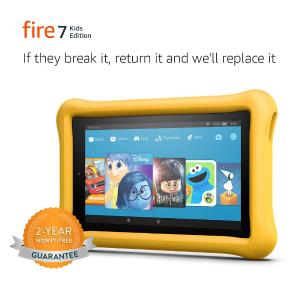 $69.99 保护套3色可选Amazon Fire 7 儿童版平板电脑促销
