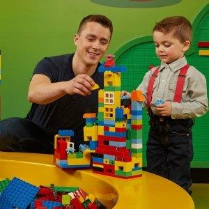 4.5折+送小玩具多伦多 Legoland 乐高乐园门票促销   乐高迷不能错过