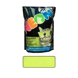 Neon LitterNEON Cat Litter Green