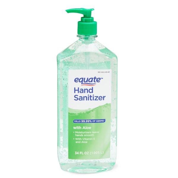 杀菌免水洗手液 34 fl oz