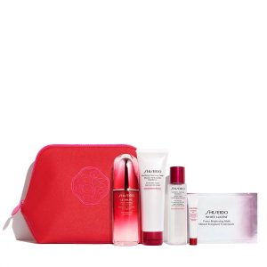 Shiseido$226 ValueUltimate Defense Set: Brighten and Strengthen (A $226 Value)