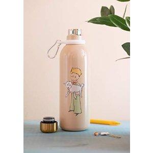 小王子粉色水杯