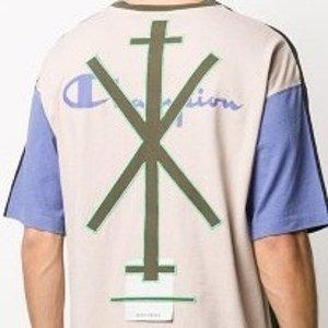 6折+包税 封面T恤$138独家:Craig Green x Champion 跨风格联名 潮流不撞衫