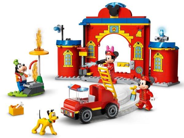 米奇和好友的消防站及消防车 10776   迪士尼