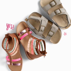 $4 Flip Flops $13 All Sizes + 2X PointsOshKosh BGosh Sandals on Sale