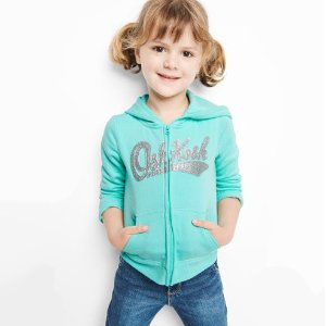 $8.96 & UpOshKosh BGosh Kids Hoodies & Pullovers on Sale