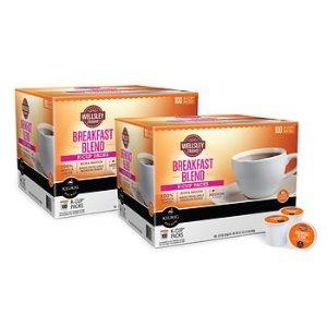 Wellsley Farms 胶囊咖啡100个*2盒