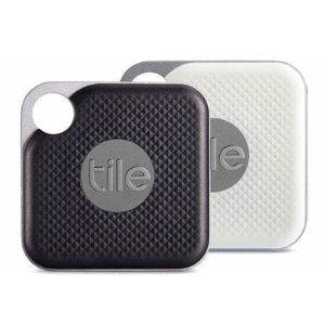 $10 可换电池史低价:Tile Pro 无线蓝牙追踪器 防丢器