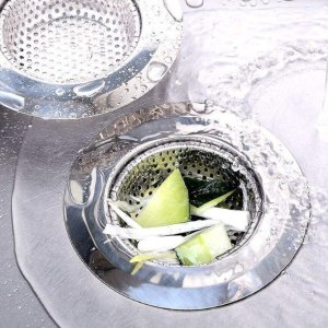 低至5折 £5.97入5个过滤网洗碗槽、浴室排水口过滤网 筛菜渣防头发堵塞 不买后悔系列