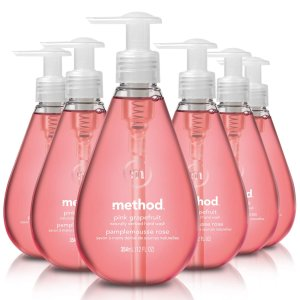 $12.54Amazon Method Gel Hand Soap, Pink Grapefruit, 12 Fl Oz (Pack of 6)