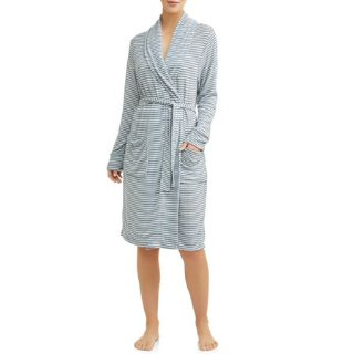 $15.00(Org.$99.99)Cervantes Women's Brushed Jersey Robe @ Walmart