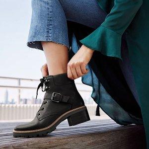 4.5折起+最高额外7折+免邮最后一天:Naturalizer 女士短靴 秋冬最in搭配单品 切尔西靴$24