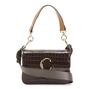 Made In Italy Small Leather Shoulder Bag | Tote Bags | Marshalls