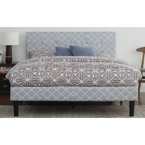 Weave Classic Fabric Bed, Full Size