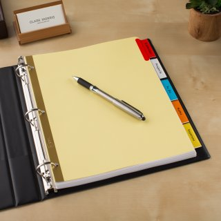 $0.98Avery 5-Tab Dividers, Insertable Multicolor Big Tabs, 1 Set