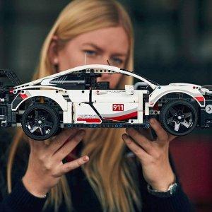 $202(原价$228)LEGO乐高 科技系列 42096 保时捷911 RSR