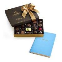 Godiva 黑巧克力27颗什锦礼盒+日记本