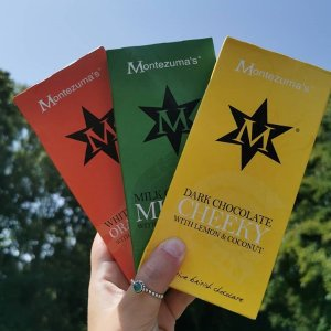 无门槛8.4折!可定制巧克力礼包!Montezuma's 英国手工奢侈巧克力品牌 限时礼包热卖