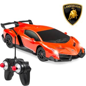 $11.99+ Free ShippingEnding Soon: 1/24 Kids RC Lamborghini Veneno Racing Car Toy w/ Lights, Shock Suspension