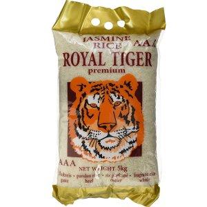 每袋仅需€9.62Royal Tiger 茉莉香米 5公斤x4包 仅售€38.48