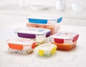 $29.99Joseph Joseph Nest Lock 彩色塑料食物密封保鲜盒22件套