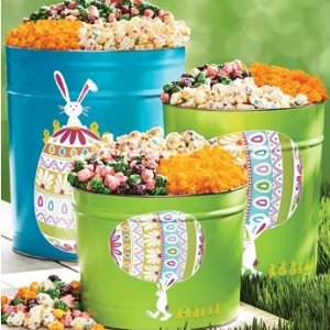 50% OFF+FREE 2-Day Shipping UpgradeHappy Easter Popcorn Tins and Boxes on Sale