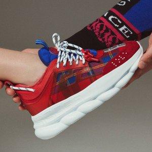 街头潮流独家发售Versace 新款运动鞋开卖