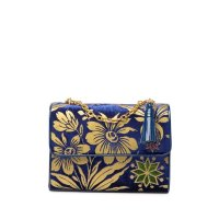 Tory Burch Cosmic Floral 天鹅绒链条包
