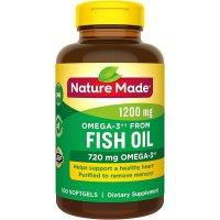 Nature Made Omega-3鱼油 1200mg 100粒