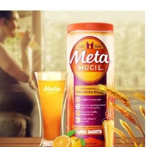 限时第2件半价 折合仅¥104/罐Metamucil 膳食纤维粉72次吸油脂代粉