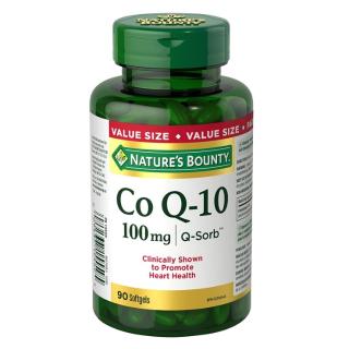 $15.28(原价$22.98)自然之宝Nature's Bounty CO-Q10 辅酶Q10胶囊100mg, 90粒