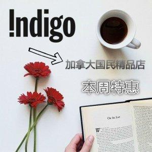 周末8.5折特惠Indigo 加拿大国民精品店,小众单品聚集地