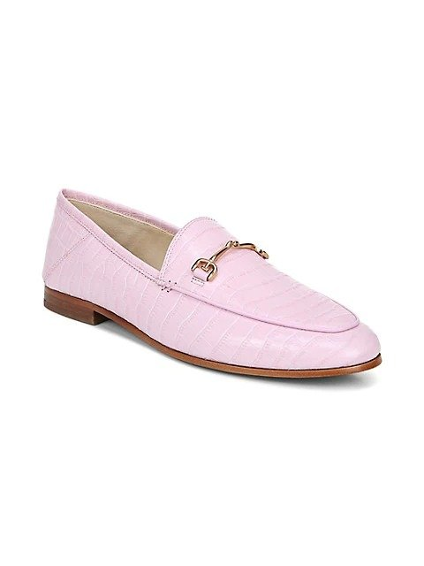 Loraine 鳄鱼纹乐福鞋