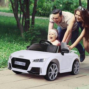 """低至5.3折+免邮Aosom 给娃买""""豪车""""超拉风 奔驰、越野随你挑 新款奥迪已上线"""