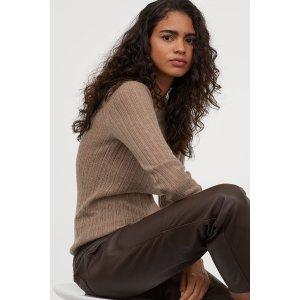 H&MCashmere毛衣