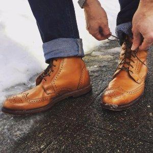 低至4折Allen Edmonds高档半定制手工男鞋 社会精英名流之选