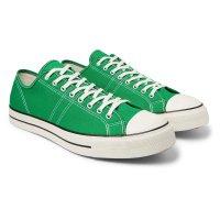 Converse 绿色平底鞋