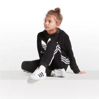 低至3折+额外8折+包邮adidas 精选正价儿童服饰、鞋履全场特卖