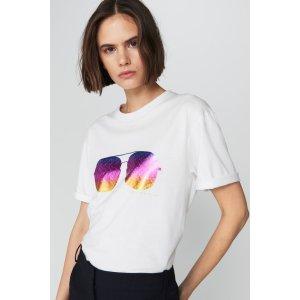 Victoria Beckham印花T恤