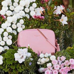 低至4折 樱花粉的浪漫邂逅Ted Baker 精选美裙、包包、钱包等促销