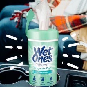 $3.39 每片不到$0.1 超好用手慢无:Wet Ones 消毒湿巾特卖 净手也杀菌 安全便携