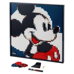 Lego两种效果+2种,补货迪士尼 米老鼠 31202 | ART系列
