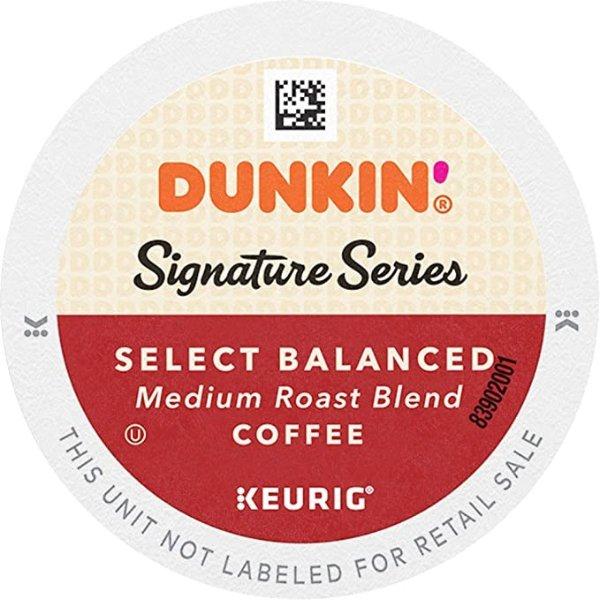 Dunkin' 经典中烘咖啡 K-cup, 60颗