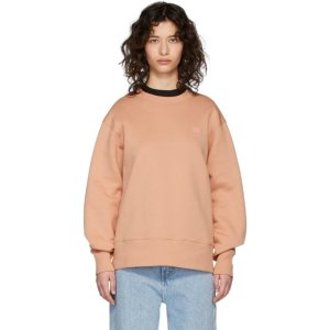 Acne Studios官方定价$320粉色卫衣