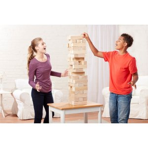 $39.99 Giant Sized Jumbling Tower in Crate Game