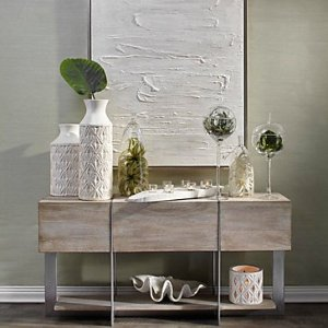 Clifton Console Table | Del Mar Eucalyptus Living Room Inspiration | Living Room | Inspiration | Z Gallerie