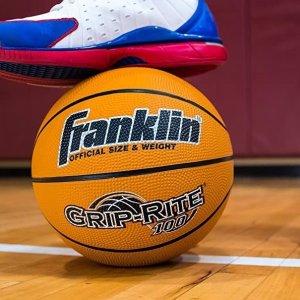 Amazon官网 Franklin Sports 橡胶篮球