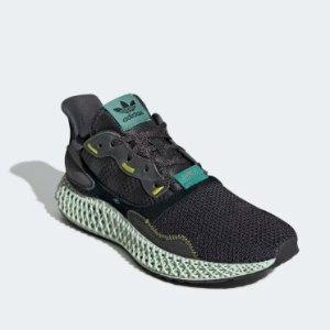 售价$520 4月12日23:55限量发售Adidas官网 ZX 4000 4D系列集结目前最前端高科技的球鞋!