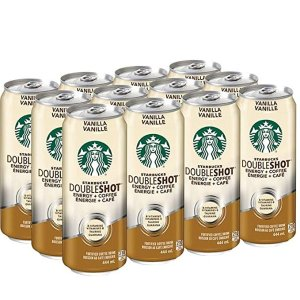 Starbucks双倍意式浓缩香草咖啡 12x444mL