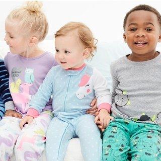 低至4折+满$40享额外8折即将截止:Carter's 童装优惠+ 满$25送$10